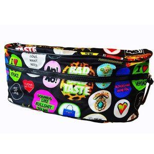 VERSACE Pop Art Print Large Belt Bag NWT